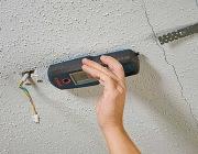 Поиск обрыва проводки. Поиск обрыва проводки на потолке специальным прибором.