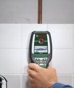 Поиск скрытой проводки. Цифровой детектор Bosch является самым надежным устройством поиска скрытой проводки.