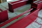 Покраска стеллажей. Покраску стеллажей можем осуществить у Вас дома или в нашей мастерской.