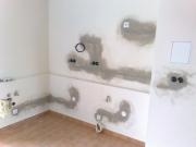 Поменять проводку в квартире. Как правило, старая электропроводка меняется после того, как была завершена перепланировка и основные строительные, ремонтные работы, но еще до начала проведения всех отделочных работ.