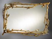 Поменять зеркало. Поставить зеркало в такую дизайнерскую раму помогут Вам наши мастера.
