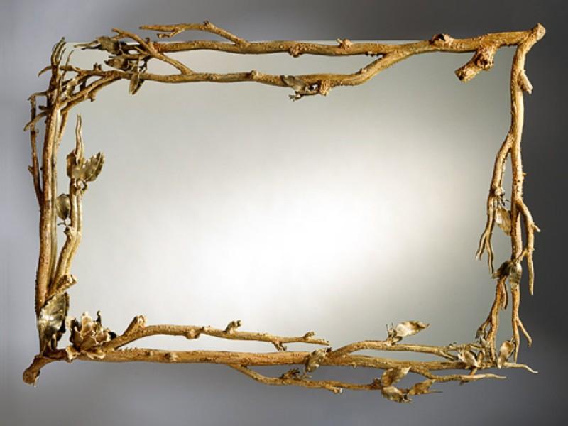 Декорирования зеркала своими руками фото