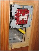 Проект электрики. Установку выключателей, розеток, распределительных коробок делается в соответствии с проектом электрики.