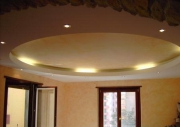 Провести проводку в квартире, цена. Стильный потолок - неотъемлемая часть современного интерьера.