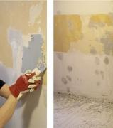 Расценки на ремонт квартир. Снятие старого покрытия и подготовка стен перед отделкой - первый этап ремонта.
