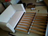 Расценки на сборку мебели. Сборка раскладного дивана ИКЕА.