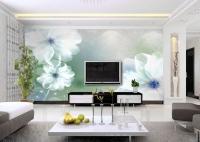 Расчет ремонта квартиры. Удивительно воздушные и красивые обои с крупным рисунком могут украсить любой интерьер.