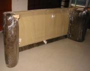 Разборка дивана. Разобранное и упакованное основание дивана перед транспортировкой.