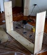 Разборка мебели. Заключительный этап разборки стеллажа.