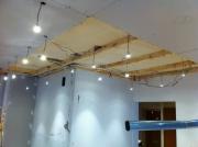 Разводка электрики. Монтаж электрики с выводом большого количества лампочек.