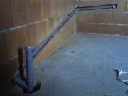 Реконструкция канализации. Частичная реконструкция канализации в ванной.