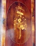 Реконструкция мебели. Декор на дверце шкафа. Реконструкция для музея.