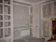 Ремонт 1 комнатной квартиры. Встроенные ниши и шкафы являются удобным и красивым украшением комнаты.