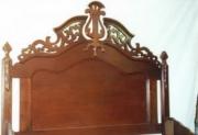 Ремонт антикварной мебели. Отремонтированная спинка кровати. Реконструкция для музея.
