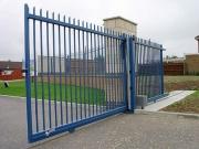 Ремонт автоматических ворот. Откатные ворота.
