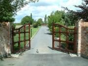 Ремонт автоматических ворот. Распашные ворота.