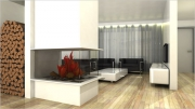 Ремонт домов квартир. 3D проект комнаты. Современные программы позволяют увидеть  будущую комнату во всех ракурсах.
