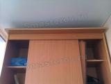 Ремонт дверей шкафов купе. Двери в шкафу-купе не закрываются из-за искривления направляющей, поломки роликов, стопоров.