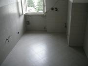 Ремонт двухкомнатной квартиры в хрущевке. Отделка кухни плиткой. Осталось установить мебель и подключить бытовые приборы.