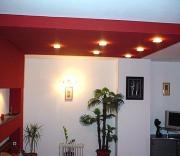 Ремонт двухкомнатной квартиры. Яркий акцент на потолке добавит неповторимость Вашей комнате.