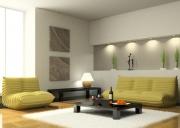 Ремонт и отделка квартир. Сейчас вместо мебели часто используют гипсокартонные конструкции для планировки пространства.