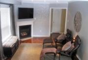 Ремонт комнаты под ключ. Комната после ремонта. Более спокойные серые тона придали комнате стильный вид.
