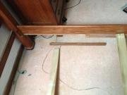 Ремонт кровати.  Несложный ремонт кровати на дому производим за один день.