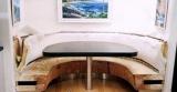 Ремонт кухонной мебели. Кухонный уголок до перетяжки.