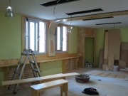 Ремонт квартир Царицыно. Отделка стен и потолка деревянными панелями - это экологично и красиво.