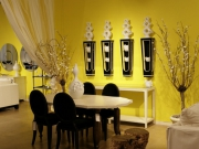 Ремонт квартир и офисов. Столовая в желтых тонах станет замечательным украшением Вашей квартиры.