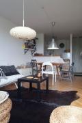 Ремонт квартир Люблино. В однокомнатной квартире можно функционально оформить зоны.