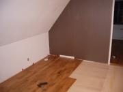 Ремонт квартир недорого. Ламинат на полу - недорогой материал для красивого и прочного пола.