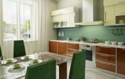 Ремонт квартир под ключ. Кухня должна быть красивой и уютной, ведь в ней собирается вся семья!