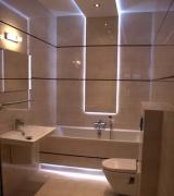 Ремонт квартир в Москве. Ванная комната сегодня - это не только безупречный ремонт , это- качественная сантехника и великолепное освещение.