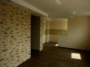 Ремонт квартир в Москве. Отделка стен деревянными и пробковыми панелями.