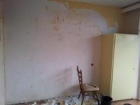 Ремонт квартир в Орехово-Зуево. Важный этап перед началом ремонта - очистка стен от старых обоев.