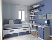 Ремонт квартир в Солнцево. Детская комната для подростка очень удобна и функциональна.