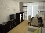 Ремонт маленьких квартир. В маленькой гостиной можно сделать несколько функциональных зон.