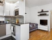 Ремонт малогабаритной однокомнатной квартиры. Самый оптимальный вариант для малогабаритной квартиры - ликвидация перегородок и зонирование пространства.