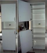 Ремонт мебели цены. Поломанные дверцы кухонного шкафа ИКЕА. Мы отремонтируем Вашу мебель по приемлемым ценам!