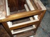 Ремонт мебели из дерева. Тумба из дерева. Укрепление каркаса.