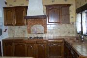Ремонт мебели кухни. Кухня старого типа до ремонта.