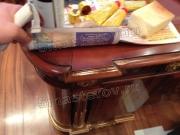 Ремонт мебели в Москве. Письменный стол после реставрации. Работа мастера-реставратора Николая Ш.