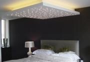 Ремонт новой квартиры. Светодиодный потолок является дополнительным украшением потолка.
