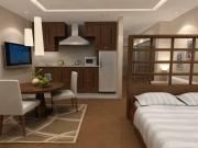 Ремонт однокомнатной квартиры, цена. В однокомнатной квартире после ремонта, каждая зона является функциональной и красивой.