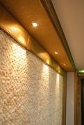 Ремонт однокомнатной квартиры П 44. Декоративная стена в коридоре.