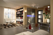 Ремонт однокомнатной квартиры в Москве. Зонирование  с помощью перегородок и различных материалов- частый прием при ремонте однокомнатной квартиры.