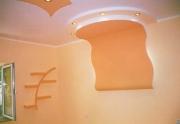 Ремонт трехкомнатной квартиры стоимость. Вариант отделки потолка и стен.