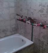 Ремонт ванная туалет под ключ. Перед отделкой стен ванной комнаты, необходимо продумать и подвести все коммуникации.