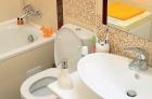 Ремонт ванной под ключ. Совмещенная ванная может быть красивой и функциональной, если правильной выбрана сантехника и обговорен дизайн.